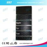 Impermeable al aire libre de gas LED Mostrar precio (remoto o PC Control)