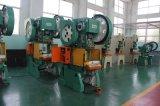 Máquina plateada de metal de la prensa de perforación del orificio de la hoja