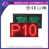 Módulo barato do indicador de diodo emissor de luz da cor vermelha do módulo do diodo emissor de luz do preço P10