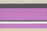 Matéria têxtil colorida Placemat das listras para o Tabletop & o revestimento