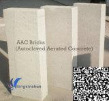 オートクレーブに入れられた通気された具体的な煉瓦のためのAACの壁のブロック