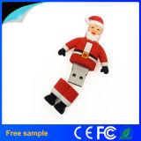Presente promocional Christmas Santa Claus USB Flash Drive