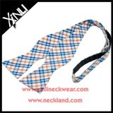 Cotton Men Plaid Self Bowtie