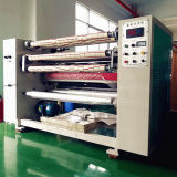 Machine de fente automatique de Rewinder de bande transparente de BOPP
