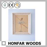 Frame de madeira do bebê do frame da foto da decoração Home