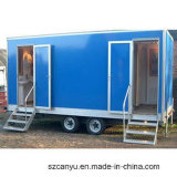 Movable Outdoor Mobile Portable Toilet