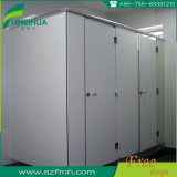 Centro Comercial Phenolic Resin Fireproof Aluminum Toilet Partition