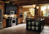 Gabinete de cozinha Home da madeira contínua da mobília, mobília da cozinha