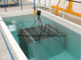 Scambiatore di calore di ripristino di calore dei residui industriali della conceria