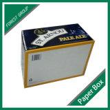 Caixa de presente impressa cor do frasco de Champagne (FP0200090)