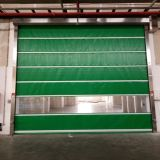 Дверь штарки завальцовки Processoring еды промышленная моторизованная пластичная (HF-1087)