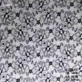 Tela do laço de matéria têxtil da flor de 2017 formas para a roupa