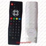 Nettoyer apprendre à télécommande imperméable à l'eau des soins de santé TV pour l'hôpital d'hôtel de STB Hom