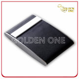 Portatarjetas conocido de la venta de la promoción del cuero caliente del negro