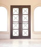 家のための現代カスタム正方形の鉄の前部出入口