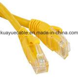 RJ45 de Cmr Utpcat6 de câble LAN de cordon de connexion