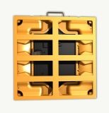 Indicador de diodo emissor de luz interno Rental cheio da cor P4 que anuncia a parede video