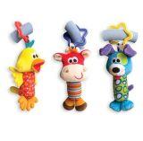 Baby Rattle Tinkle Suspensão Bell Multifuncional brinquedos de carrinho de pelúcia