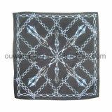 Bandana quadrato multifunzionale del cotone di Paisley come accessorio dei capelli