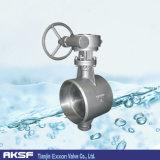 Di/CS/Ss/Di materielles Grooved Enden-konzentrisches Drosselventil Ventil vom Tianjin-Exxon