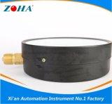 Multi-Employer les indicateurs de pression normaux de caisse en acier noire