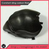 Casco de la fibra del carbón