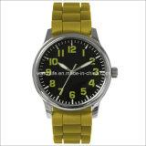 アームステンレス鋼の明るい人の腕時計