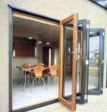 Portelli pieganti del patio della Bi di alluminio con lo standard standard ed australiano americano