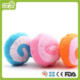 O luxuoso brinca produtos sibilantes do cão da forma do Lollipop