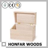 Коробка коробки подарка простоты DIY деревянная упаковывая