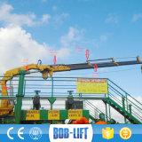 Grúa marina hidráulica de la cubierta de 10 toneladas de China