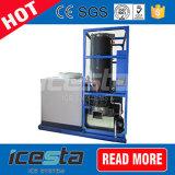 Générateur de machine de glace du tube 1000kg de refroidissement à l'air d'Icesta 1t/24hrs