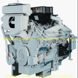 Двигатель дизеля Cummins Kt38-M600 Bhp для морского главного двигателя и движения вперед