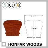 """2-1/4 de """" corrimão de madeira material da escada da decoração X 2-3/8 """""""