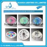 스테인리스 27W RGB LED 샘 반지 빛