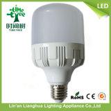 bulbo plástico del aluminio LED de 15W 20W 30W 40W