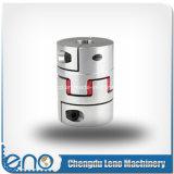 10 x 10mm gebohrte flexible Kiefer-Kupplung des CNC-MotorGS19 GR