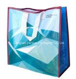 Saco de compra tecido PP personalizado recicl, sacos não tecidos