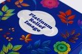 Schöne Luxuxpapphandgemachtes faltendes Packpapier-Geschenk-Kasten-Hochzeits-Luxus-Geschenk