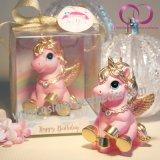 Kreative reizend kleine Pegasus-Einhorn-Kerze für Kind-Geburtstag-Geschenk