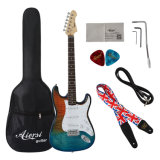 St Electric Guitar with Guitar for Hard CASE Sale