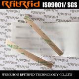 Бирка прилипателя RFID длиннего ряда глянцевой бумаги ярлыка UHF RFID керамическая