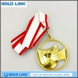 Souvenir creux de médaille de volleyball d'or de médaillon de récompense de pièces de monnaie faites sur commande de médailles