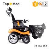 Sillón de ruedas inclinable de la energía eléctrica del rango largo de Topmedi