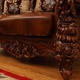 رفاهية جلد أريكة يثبت لأنّ يعيش غرفة أثاث لازم