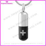 Verbrennung-Miniurne-Pille/Kapsel Pendent Ijd9727