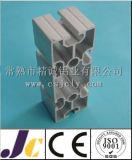 Profil en aluminium de anodisation argenté pour la chaîne de production, chaîne de production en aluminium profil (JC-P81003)