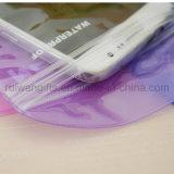 Bolsa impermeable para el teléfono, bolsa impermeable del pudín del PVC del iPhone