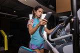 シルクスクリーンプリント女性の短いSleeve+3/4 Shotrsのトラックスーツの適性のスポーツ・ウェア
