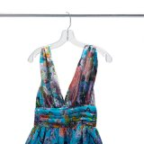 Kleid-Zubehör-transparente Kleidung-Plastikaufhängung (pH1701C-2)